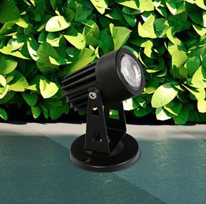 Lámpara de Piso jardin 1L negro