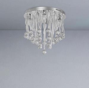 Lámpara de Techo Cromo 4L LEDs