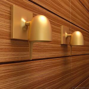 Imagen de Lámpara Aplique Coppa 1L dorada Studio