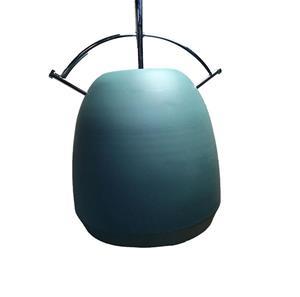 Lámpara Colgante Verde 1L open b