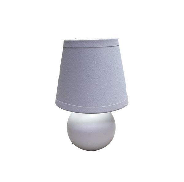 Lámpara de Mesa 1L blanca ob