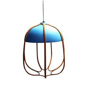 Lámpara Colgante 1L azul open bx