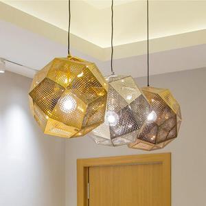Lámpara Colgante 1L dorada