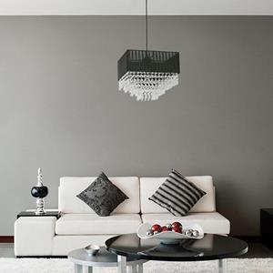 Lámpara Colgante 1L negro