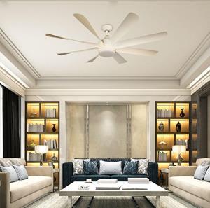 Ventilador LED inverter blanco 60