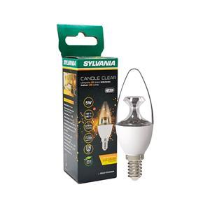 Imagen de Bombillo LED Candle Clear 5w E14 3000k Sylvania