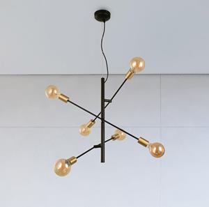Lámpara de Techo 6L dorado Arteluce