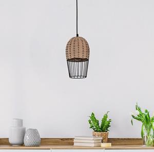 Lámpara Colgante 1L rattan