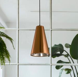 Lámpara Colgante 1L cobre antiguo