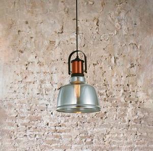 Lámpara Colgante 1L negro cobre