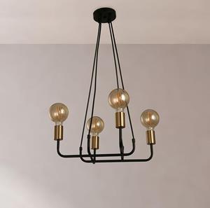 Lámpara Colgante 4L vintage