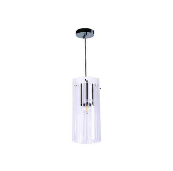 Lámpara Colgante 1L níquel sat