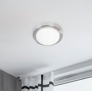 Lámpara de Techo Plafón 1L níquel sat