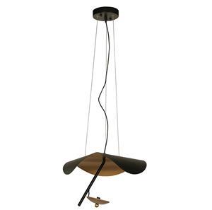 Imagen de Lámpara Colgante LED Campanilla 3000k negro / dorado 11w