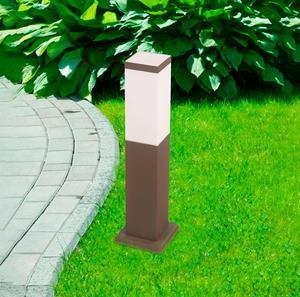 Lámpara Poste de Muro ext 1L choc