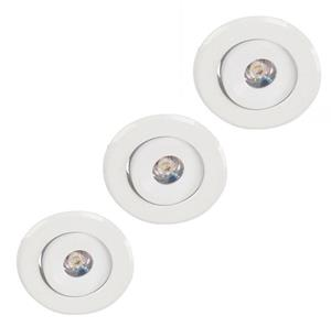 Lámpara Empotrable LED 3000k 3pack