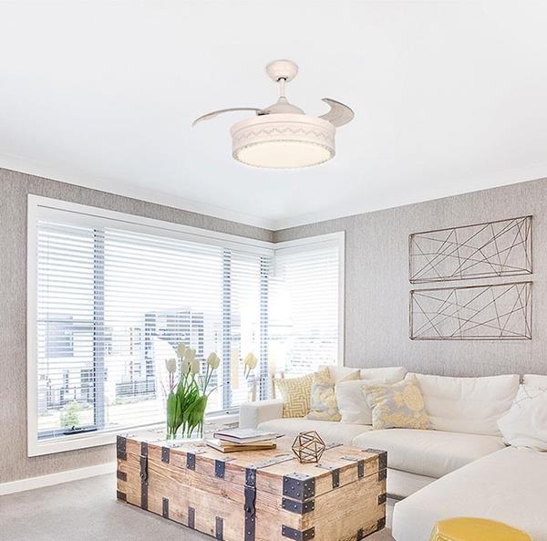 Ventilador de Techo LED 42 white