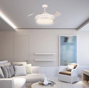 Ventilador de Techo LED blanco 42