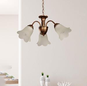 Lámpara Colgante 3L dorado