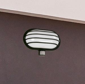 Lámpara Ext de Pared 1L sensor mov