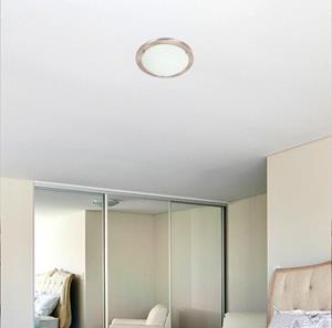 Lámpara de Techo plafón 1L blanco