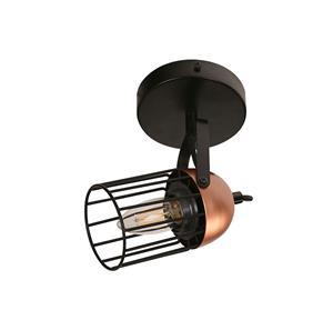 Imagen de Lámpara de Techo Spot Bolonia 1L negro