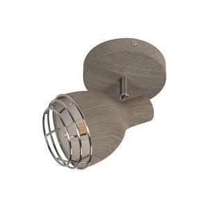 Imagen de Lámpara de Techo Spot Palermo 1L gris