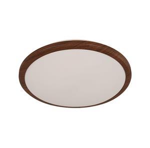 Imagen de Lámpara Plafón LED Sorrento Round 6000k madera oscura