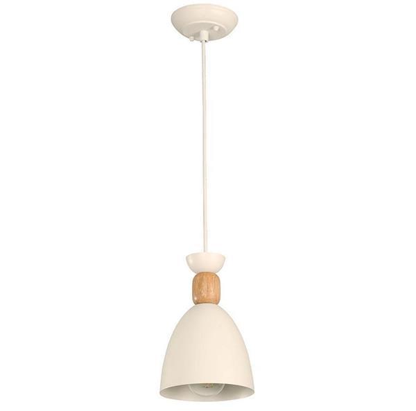 Lámpara Colgante 1L blanca